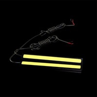 12V   17cm Car Waterproof COB LED for Daytime Running Day Fog Light DRL Driving