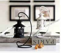 Wholesale 2015 fashion Home Décor lovely candlestick of romantic home decoration novelty households black and white candle holders