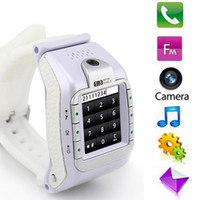 phone quad band - Excellent Quality N388 Watch Phone with M Spy Camera GSM Quad Band with retail package DHL Fedex