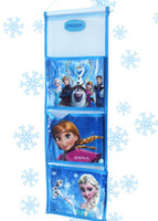 Wholesale 201407y01 Frozen letter Stuff Sacks cm Cute cartoon Three layer receive bag letter holder