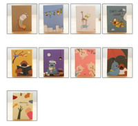 Wholesale New Cute cartoon notepad lovely animal notebook Korea s creative stationery School office Supplies