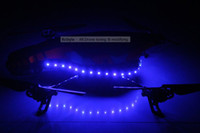 Wholesale Parrot Ar Drone UFO BLUE LED Light Kit Outdoor Hull RcStyle003
