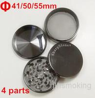 Wholesale High quality Chromium Crusher herb grinder Diameter41mm mm mm parts we also offer titanium nail ceramic nail quartz nail