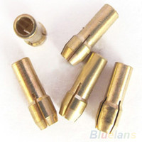 Wholesale 5pcs set Brass Collet Fits For Dremel Rotary Tool mm mm mm mm mm Chuck Set