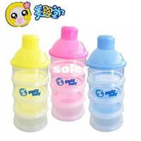 Wholesale 4 layer baby milk powder storage box infant food storage boxes food box for newborn