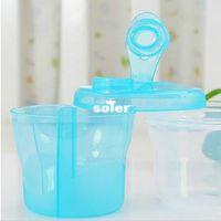 Wholesale Portable Baby milk powder box baby storage box set one layers PP baby product feeding set