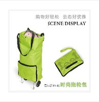 Cheap Folding Shopping Luggage bag Best Plain Nylon traval fold storage