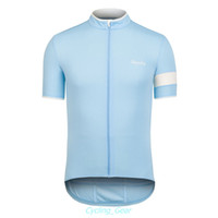 Wholesale 2014 Rapha Pro Team Bike Jersey Stylish Anti Pilling Men Bike Clothing Polyester Cycling T shirt Short Sleeve Logo Blue Racing Jersey
