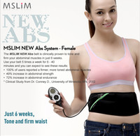 Biological Therapy flex belt - Update MSLIM Rechargeable ABS Female Slimming Flex Belt ABS System Slim Massage Belt