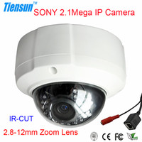 Indoor Infrared CCD Home Security 1080P Sony 2.1Megapixel HD Dome Camera Built-in ICR Network Video IP Camera ONVIF 2.8-12mm Varifocal Lens OE20