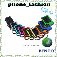 Wholesale Waterproof Shockproof Solar Charger External Battery Power bank mah Rechargeable Solar panel Powered Backpack Charger