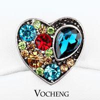 Wholesale DIY Jewelry Accessory Adornment Set Noosa Nosa Amsterdam Chunks Clasps Snaps Jewelry Cabochon Setting Vn