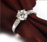 Diamond jewelry mounts - 5 mm Center stone Semi Mount Rings Wedding Engagement K White Solid Gold Natural Diamond Ring Fine Jewelry Round ZKYR004