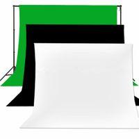 Wholesale 100 Muslin Cotton Backdrop Background Stand Screen Photo Studio Lighting