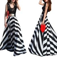 Cheap Casual Dresses stripe Dress Best Bohemian Dresses Summer Chiffon Dress