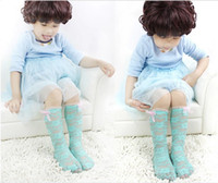 Girl best plus size wholesale - Best Selling Summer Plus Size Children Girls Princess Lace Flower Socks Kids Bowknot Butterfly Socks Child Knee Socks pairs M0393