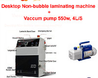 Wholesale High quality KO Non bubble laminator machine laminating machine with w l s vaccum pump for LCD screen glass repair