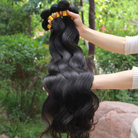 Wholesale 4pcs body wave virgin human hair wefts queen hair products unprocessed hair quality guarantee factory direct by DHL
