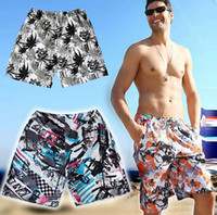 Wholesale 2014 New Beach Pants For Men Quick Dry Beachwear Trucks Surf Board Shorts Big Size