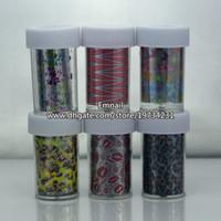 Wholesale MIXED COLORS NAIL ART DECORATION STICKER