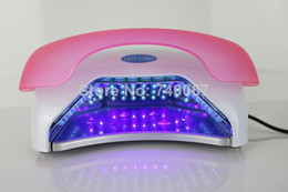 Wholesale W LED Nail Gel Polish Curing Lamp professional LED UV Dryer with Timer quick UV LED nail dryer