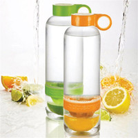 Citrus Zinger Tritan Lemon Cup Fruit Infusion Water Bottles ...
