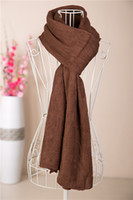 Scarves Yes Solid 2013 Winter Scarf Women Cashmere-like Acrylic Yarns Scarf For Women Unisex Scarf