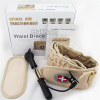 Wholesale Latest Decompression Belt Air Spinal Pain Relief Support Waist Belt with Extender Belt Release Back Pain