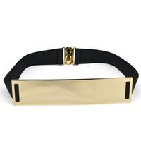 Wholesale Fashion metal sequins elastic waistband Ms Korean wild fashion waist belt wide girdle decorated female crony
