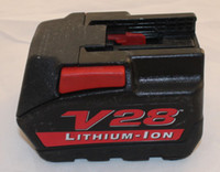 milwaukee - Power Tools Li ion Battery Milwaukee V28 Used