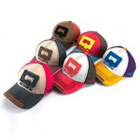 Wholesale Summer Retro letter Q adjustable Hip hop snapback hats baseball caps visors unisex
