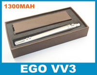 Wholesale Cigarett Display - EGO-VV3 Battery 1300mah With LCD Display For EGO Electronic Cigarett Fit CE4 CE5 CE6 VIVI NOVA Mini Protank 2 3 MT3 Vaporizer Atomizer DC015
