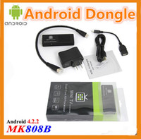 Wholesale MK808B Smart Android TV BOX HDMI Dongle Player Bluetooth Dual Core Cortex A9 MINI PC RAM GB GB Hot