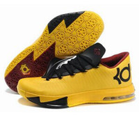 Hight Cut Men Summer Mens Basketball Shoes Pink KD VI 6 2014 Shoes Run Man Easter Kevin Durant VI KD 6 Best Basketball Shoes New Color Kd6 Sneakers Size 40-46