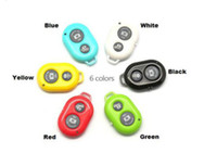 Wholesale Bluetooth Remote photo Camera Control Self timer Shutter for iPhone s iPhone s for Galaxy S5 S4 S3 Note3 Android Smart phone LS