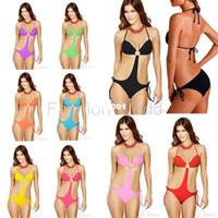 Women discount bathing suits - nd new fashion women s sexy bikini swimsuit piece swimwear colors ladies bathing suit discount