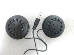 Wholesale 3 mm Stereo Flat headband headphones Cheap headsets with big size speaker headphones by post