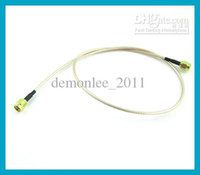 DHL Free 100pcs lot RG316 50cm SMA Male to SMA male goldplat...