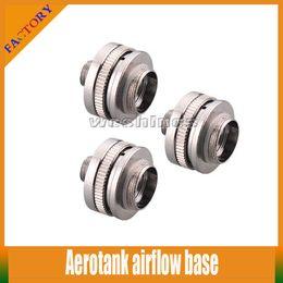 Wholesale 10 E Cigarette Aerotank airflow controller Protank Air Flow Base Control Valve For Protank Protank Aerotank atomizer clearomizer