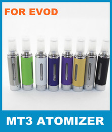 Ego MT3 Atomizer 2013 Newest Ego D Electronic Cigarette Ego Clearomizer EGO D Multi-color Atomizer for E Cigarette Kits DHL Free 30PCS