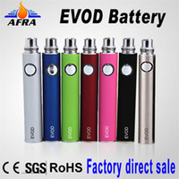 1100mAh Non-Adjustable  Top Quality eGo E Cigarette EVOD Battery EVOD Battery for MT3 CE4 CE5 CE6 Electronic Cigarette E cig Kit Colorful Battery Free Shipping