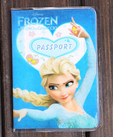 Wholesale New Sale Cartoon Frozen pattern Travel Passport Cover ID Case ID holder