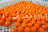Wholesale 2000 Round Yellow fill Field Paintball China factory