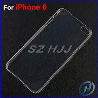 For iphone 6 2014 New Hard Plastic Clear Crystal Transparent...