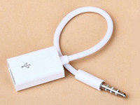 Adapter audio machine music - Aux usb cm male to usb female flash drive cd machine car music car audio cable