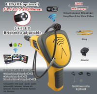 Fof Industrial   Professional WiFi borescope Support to IPHONE IPAD ANDROID Devices1 mega pixels CED99W-55 tool box
