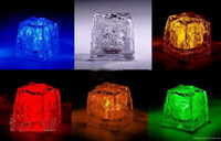 Wholesale Night Lights Glow Ice Cubes Night Light Holiday Party Night Light
