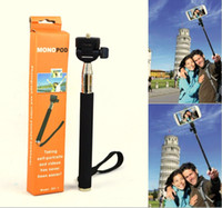 Wholesale Gopro Monopod MINI Extendable Selfie Stick for Smart phone Camera Handheld Stick For GoPro Hero3 Hero2 Hero1 Camera