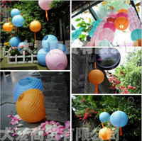 christmas paper lantern - cm quot Chinese round paper lantern wedding lantern festival decoration FG06006