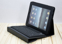 Wholesale New Arrival Stand Leather Case Wireless Bluetooth Keyboard Newest Case for iPad mini Colorful with Retail Box